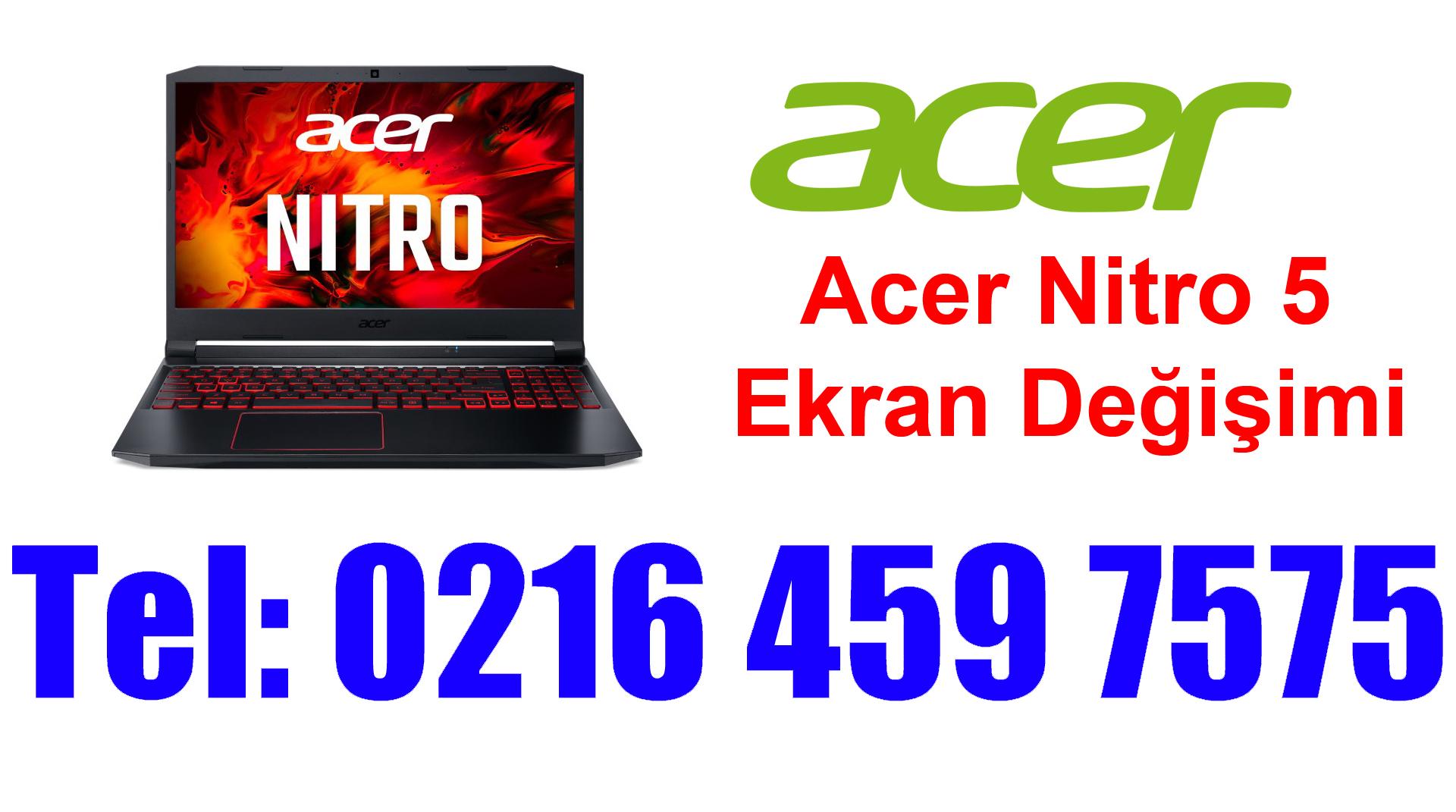 Acer Nitro 5 Ekran Değişimi